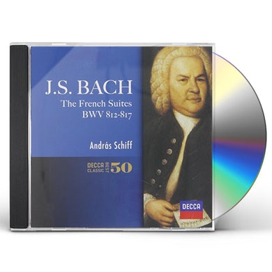 Andras Schiff J.S.BACH: FRENCH SUITES CD