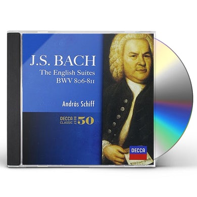 Andras Schiff J.S.BACH: ENGLISH SUITES CD