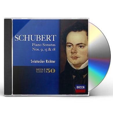 Sviatoslav Richter SCHUBERT: PIANO SONATAS CD