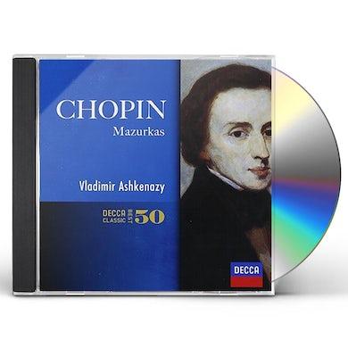 Vladimir Ashkenazy CHOPIN: MAZRUKAS CD