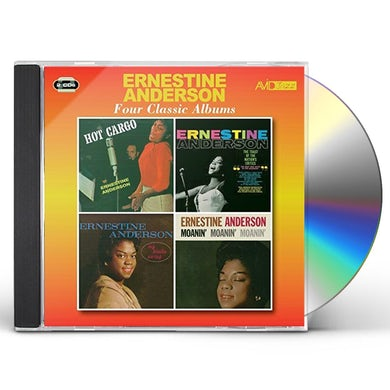 Ernestine Anderson HOT CARGO / TOAST OF THE NATION'S CRITICS / MY CD