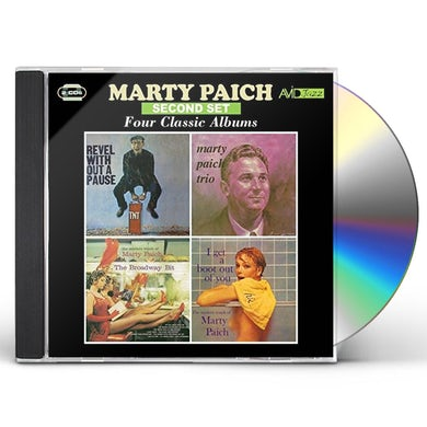 REVEL WITHOUT A PAUSE / MARTY PAICH TRIO CD