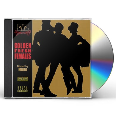 Dj Muro GOLDEN FRESH FEMALES CD