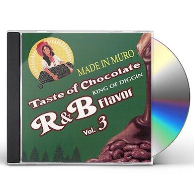 Dj Muro TASTE OF CHOCOLATE: R&B FLAVOUR VOL.3 CD