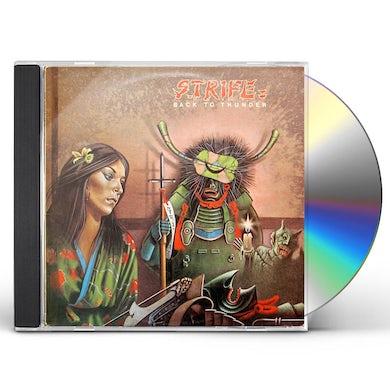 Strife BACK TO THUNDER CD