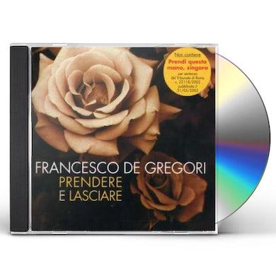 Francesco De Gregori STOP! PRENDERE E LASCIARE CD