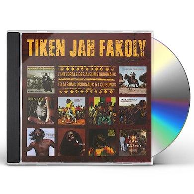 Tiken Jah Fakoly L'INTEGRALE DES ALBUMS ORIGINAUX CD