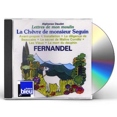 Fernandel LETTRES DE MON MOULIN 1: LA CHEVRE DE MONSIEUR CD