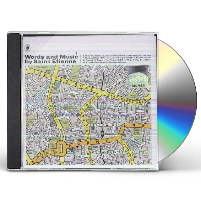 WORDS & MUSIC BY SAINT ETIENNE CD