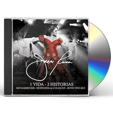 Jenni Rivera 1 VIDA - 3 HISTORIAS CD