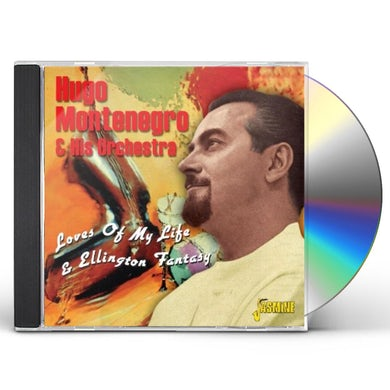 Hugo Montenegro LOVES OF MY LIFE & ELLINGTON FANTASY CD