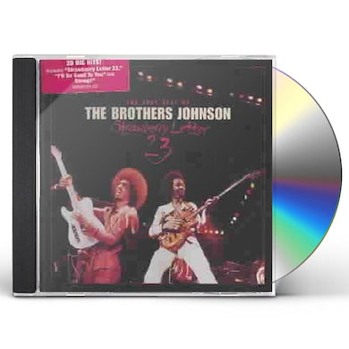 Brothers Johnson STRAWBERRY LETTER 23: THE BEST OF CD