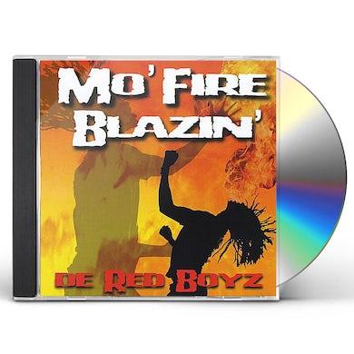 De Red Boyz MO' FIRE BLAZIN' CD