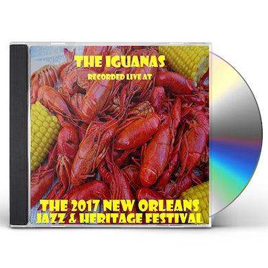 Iguanas LIVE AT JAZZFEST 2017 CD