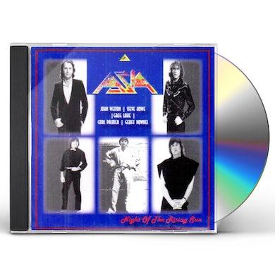 Asia NIGHT OF THE RISING SUN CD