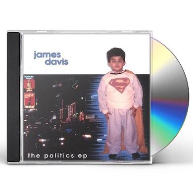 JAMES DAVIS POLITICS EP CD