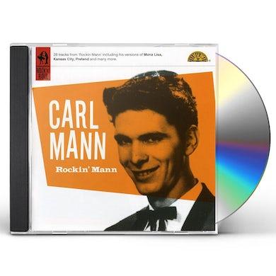 Carl Mann ROCKIN MANN CD