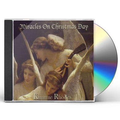 Kimmie Rhodes MIRACLES ON CHRISTMAS DAY CD