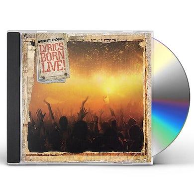 OVERNIGHT ENCORE: LYRICS BORN LIVE CD