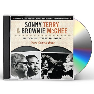 Sonny Terry / Brownie McGhee  BLOWIN THE FUSES: FROM STUDIO TO STAGE CD