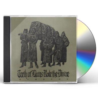 Teeth Of Lions Rule The Divine RAMPTON CD