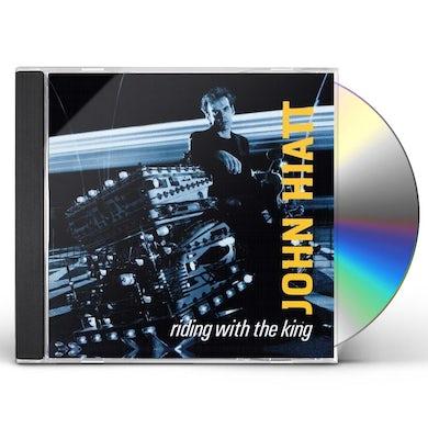 John Hiatt RIDING WITH THE KING CD