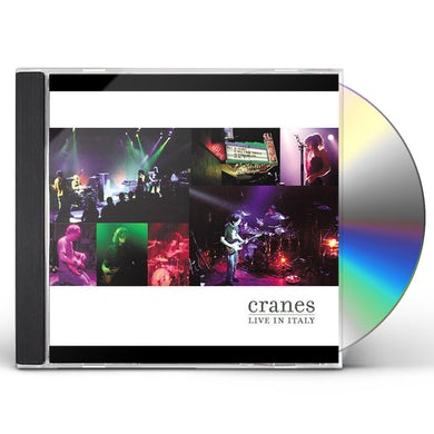 Cranes LIVE IN ITALY CD