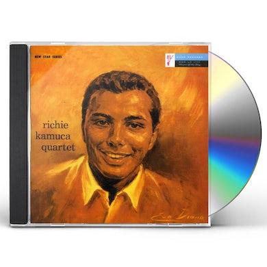 Richie Kamuca QUARTET CD