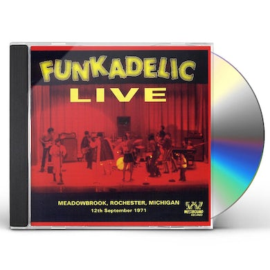 Funkadelic LIVE AT MEADOWBROOK CD