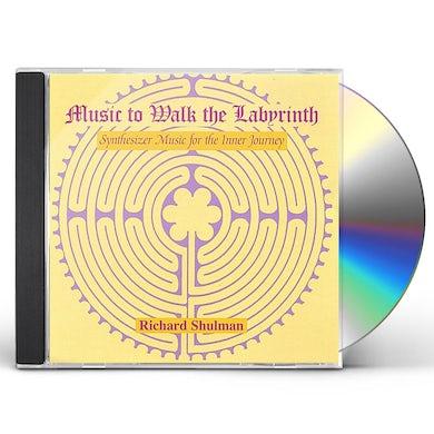 Richard Shulman MUSIC TO WALK THE LABYRINTH CD