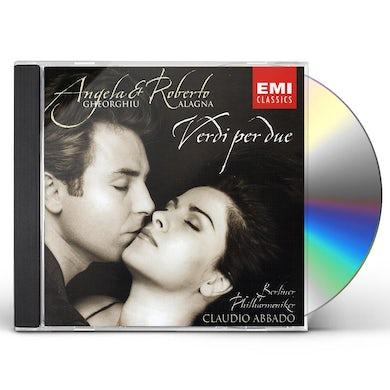 Verdi DUOS D'OPERAS - ALAGNA, GHEORGHIU, ABBADO CD