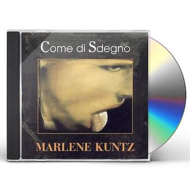 Marlene Kuntz COME DI SDEGNO CD