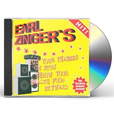 Earl Zinger PUT YOUR PHAZERS ON STUN CD