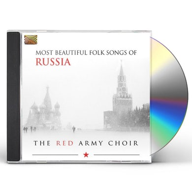 Red Army Choir MOST BEAUTIFUL FOLK SONGS OF RUSSIA CD