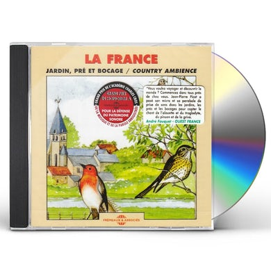 Sounds of Nature FRANCE: COUNTRY AMBIANCE CD