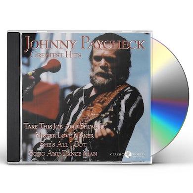 Johnny Paycheck GREATEST HITS CD