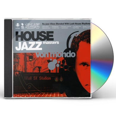 Von Mondo HOUSE JAZZ MASTERS CD