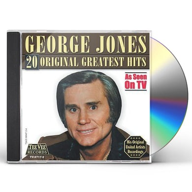 George Jones 20 ORIGINAL GREATEST HITS CD