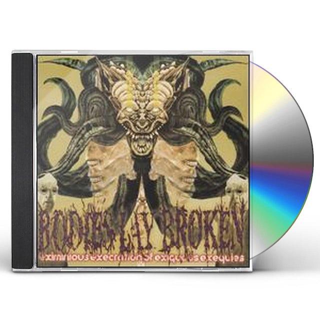 Bodies Lay Broken EXIMINOUS EXECRATION CD