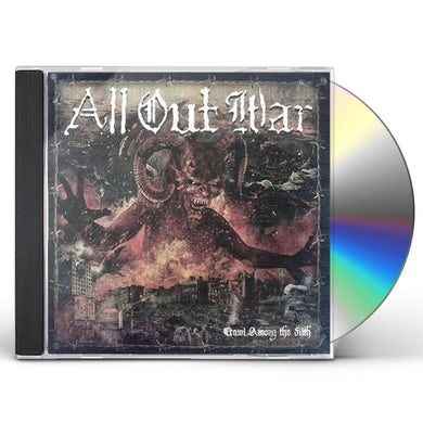 All Out War Crawl Among The Filth CD