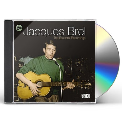 Jacques Brel ESSENTIAL RECORDINGS CD