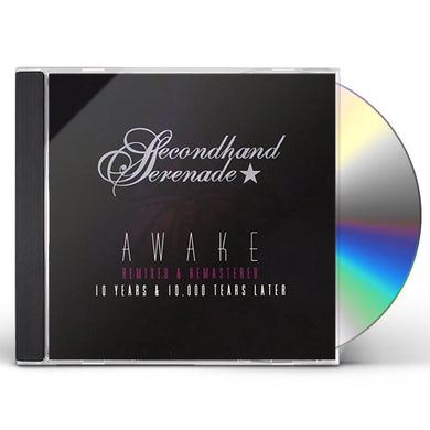 Secondhand Serenade AWAKE: REMIXED & REMASTERED 10 YEARS & 10,000 TEAR CD