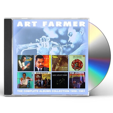 Art Farmer COMPLETE ALBUMS COLLECTION 1958-1961 CD