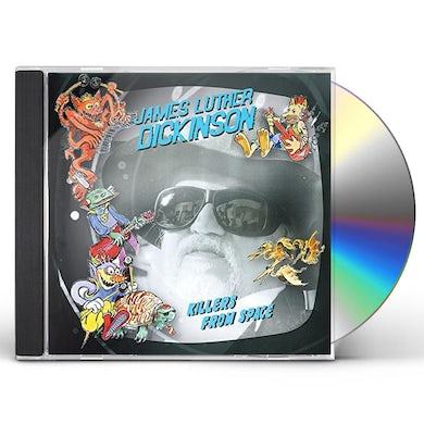 James Luther Dickinson KILLERS FROM SPACE CD