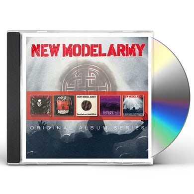 New Model Army ORIGINAL ALBUM SERIES CD
