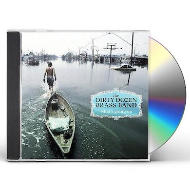 Dirty Dozen Brass Band WHAT'S GOING ON CD