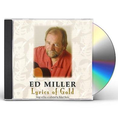 Ed Miller LYRICS OF GOLD: SONGS OF ROBERT BURNS CD