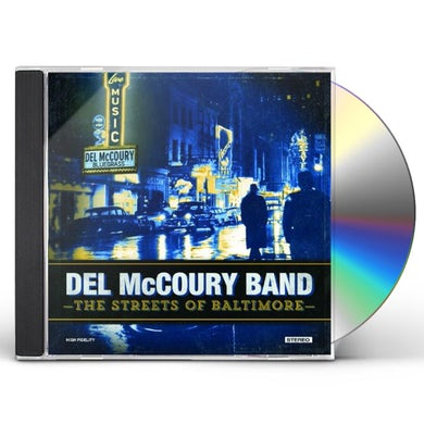 Del Mccoury STREETS OF BALTIMORE CD