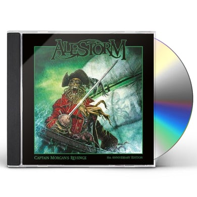 Alestorm CAPTAIN MORGAN`S REVENGE - 10TH ANNIVERSARY CD