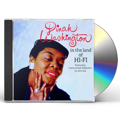 Dinah Washington IN THE LAND OF HI-FI + UNFORGETTABLE CD